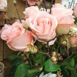 fake pink roses snellville