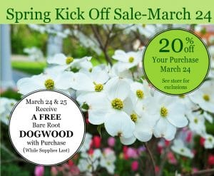 Garden Sale in Lawrenceville, GA