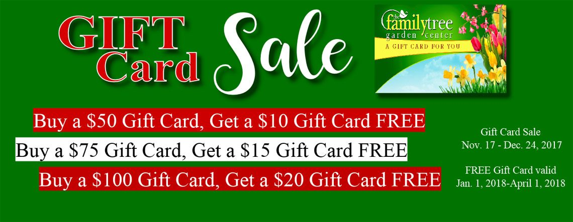 Gift Card Sale Click Here
