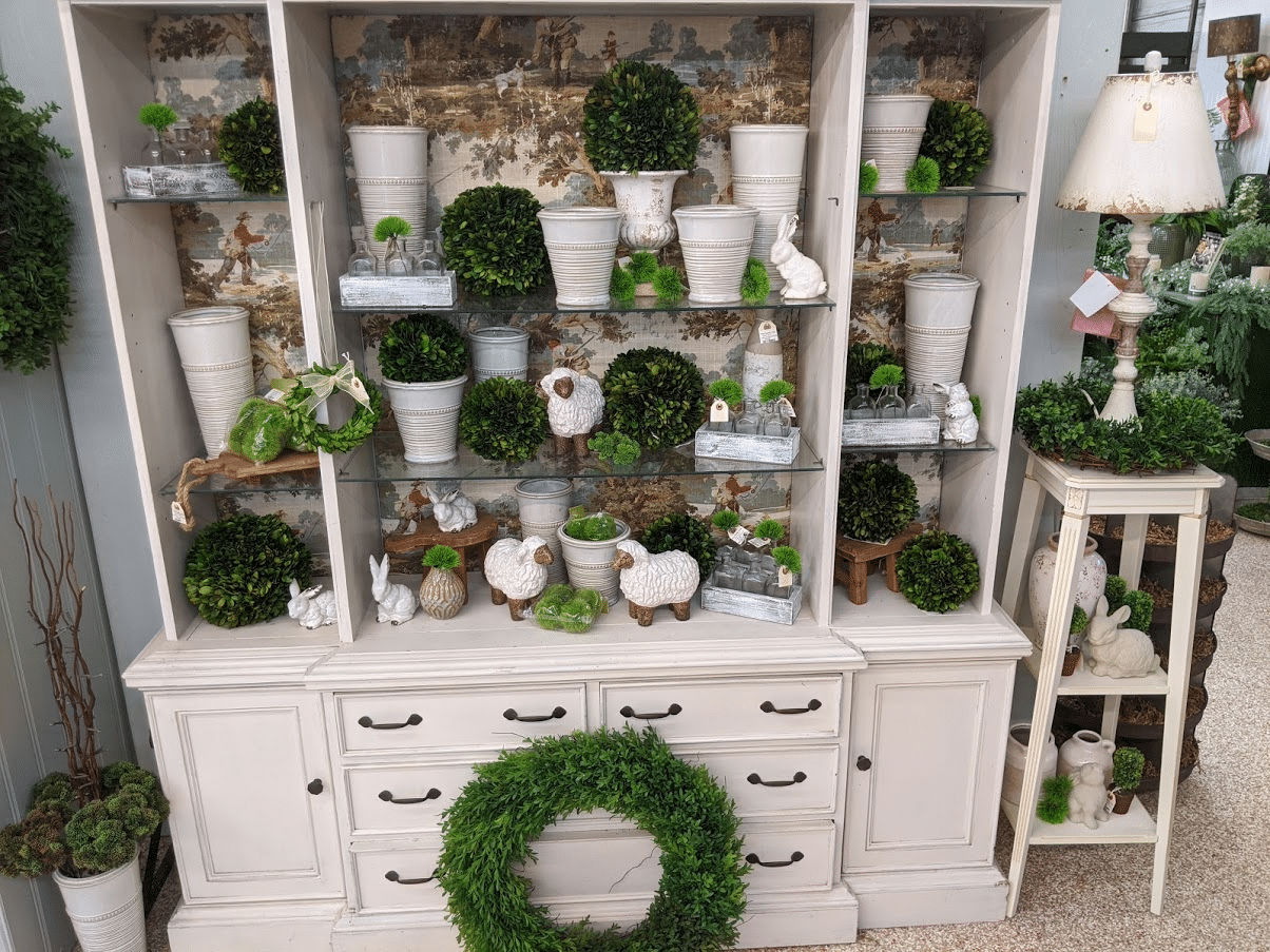 Topiaries and Ceramics