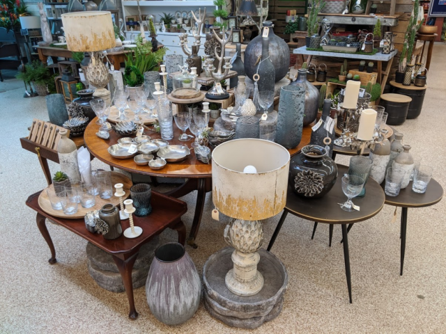Lamps and Glassware